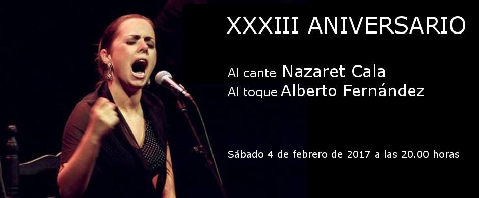 XXXIII Aniversario de la Tertulia Flamenca de Badalona